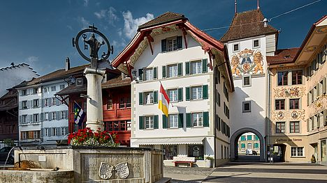 Discover the small town of Willisau (Switzerland) on the guided e-bike tour.