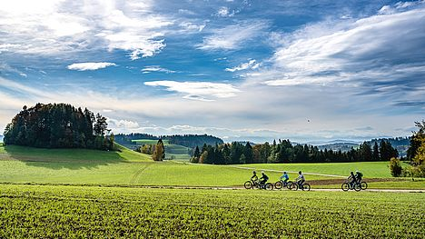 Guided e-bike tour through the beautiful Emmental with FLYER.