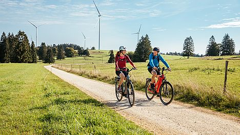 Rent e-bikes from FLYER in Huttwil and enjoy the breeze on the road.